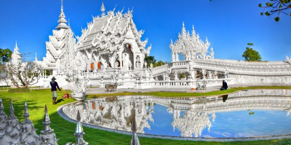 Wat Rong Khun - White Temple - Chiang Rai,
